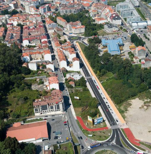 Nuevo acceso sur a Pontevedra