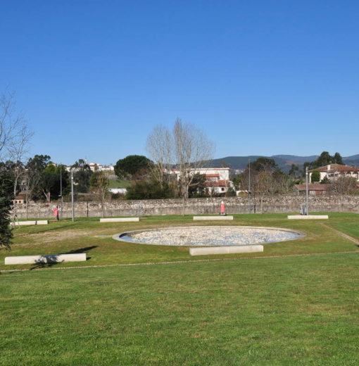 Parque de Urgeira en ValenÇa do Minho (Portugal)