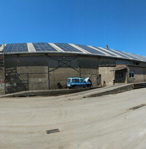 Instalación fotovoltaica de autoconsumo de 91,3 Kwp en Porriño